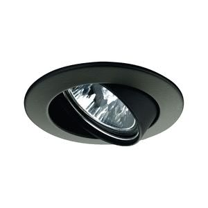 17951 Светильник поворотный Цинк, черный, 51мм, 50W Elegant material – high-quality finish. The individually swivelling halogen 12В �V recessed luminaires of the Premium Line offer brilliant light and fulfil even the highest expectations for material quality and design. 179.51 Paulmann