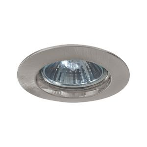 5796 Светильник встраиваемый круглый, GU10, max. 50W Elegant material – high-quality finish. The 230В �V halogen recessed luminaires of the Premium Line offer a cosy light and fulfil even the highest expectations for material quality and design. 57.96 Paulmann