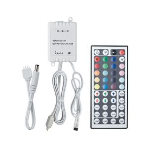 70202 Контроллер с пультом LED RGB-Control 12V DC mit IR To use YourLED or YourLED ECO RGB strips you will need an RGB controller. The RGB controller with remote control combines ease of use with a wide range of control options, including dimmability, programmable colour change and light effects. 702.02 Paulmann