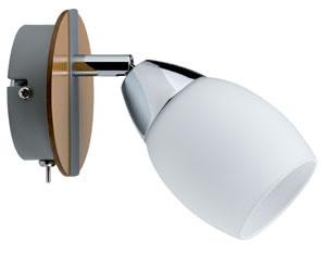 60072 Светильник настенный Wolba 1x7W GU10 хром 600.72 Paulmann