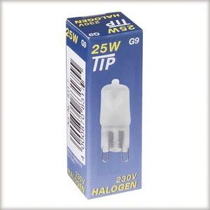 83176 Лампа галогенная 230V 40W G9 Tip (D-14mm, H-43mm) (1500h) сатин 831.76 Paulmann