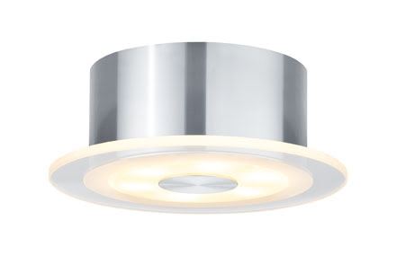 92684 Светильник накладной Set Whirl rund LED 1x6W 9VA Elegant material – high-quality finish. The decorative LED recessed lights of the Premium Line offer efficient but homelike warm white LED light and meet the most stringent standards for material quality and design. 926.84 Paulmann