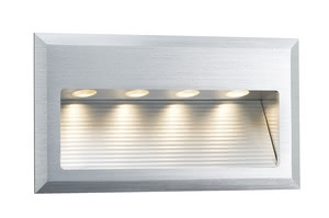 93752 Светильник наст. LED 1х4W, 3000K Light need not always come from above: The Special Line Cross Wand LED is specially designed for the in-wall mounting, sets attractive light effects and increases safety through lighting, e.g. in corridors or indoor staircases. 937.52 Paulmann