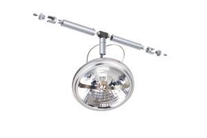 94021 Cветильник для струнной системы Wasabi 1x50W G53 12V железо шероховатое all 940.21 Paulmann