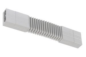 97345 Соединитель гибкий для шинной системы PHANTOM 230V L&E max.1000W 230V титан 973.45 Paulmann