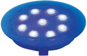 98751 Светильник встраиваемый круглый LED UpDownlight 1x1W 12V голубой (IP67) 987.51 Paulmann