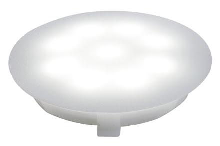 98756 Светильник встраиваемый UpDown Multifunk.-Mini 1x1W сатин 1x1 W, DC 12 V, Polycarbonate, incl. lamps 987.56 Paulmann