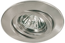 98830 Светильник встраиваемый поворотный 5x20W GU5,3 Beautiful design - ideal for living spaces. The individually swivelling halogen 12В �V recessed luminaires of the Quality Line offer brilliant light and fulfil even the highest expectations for material quality and design. 988.30 Paulmann