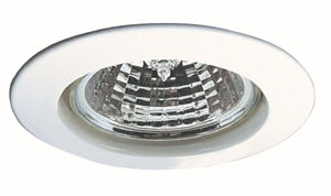 98932 Cветильник встраиваемый Премиум 1x50W GU5,3 белый Elegant material - high-quality finish. The halogen 12 V recessed lights of the Premium Line offer brilliant light and fulfil even the highest expectations for material quality and design. 989.32 Paulmann