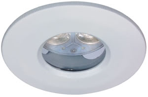 99460 Светильник встраиваемый Profi набор IP65 LED 3x4W GU5,3 бел. Elegant material – high-quality finish. The 12В �V LED recessed luminaires of the Premium Line offer brilliant light and fulfil even the highest expectations for material quality and design. In addition, these premium recessed luminaires are even protected from jets of water (IP65). 994.60 Paulmann