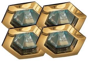 99569 Светильник встраиваемый Гекса, GU5.3, 4x35W 995.69 Paulmann