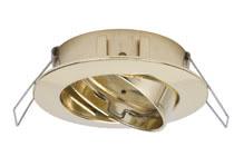 2easy Premium EBL 3er Set schwenkbar 51mm Gold