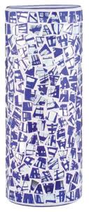 Living 2Easy Glas Fabro Mosaik Blau